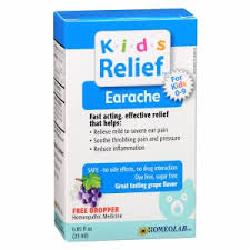 Homeopathic Ear Relief Medicine by #KidsRelief