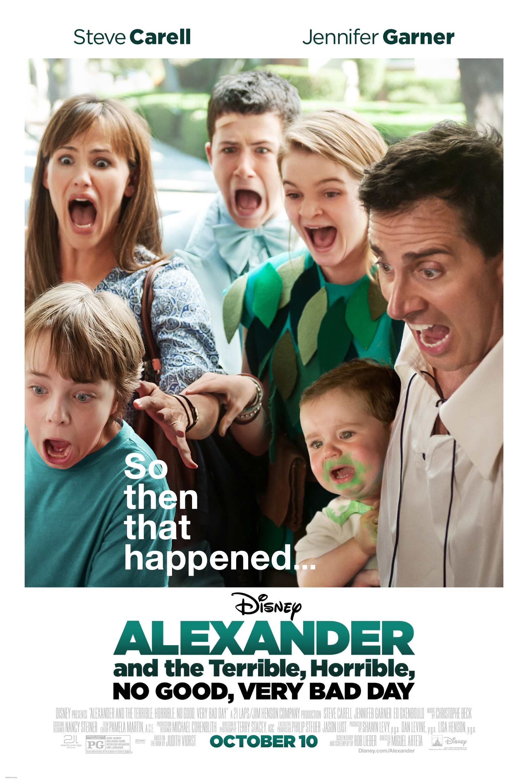 Alexander and the Terrible, Horrible, No Good, #VeryBadDay {Review}