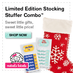 Mabel Labels Holiday Products Ends 12/30