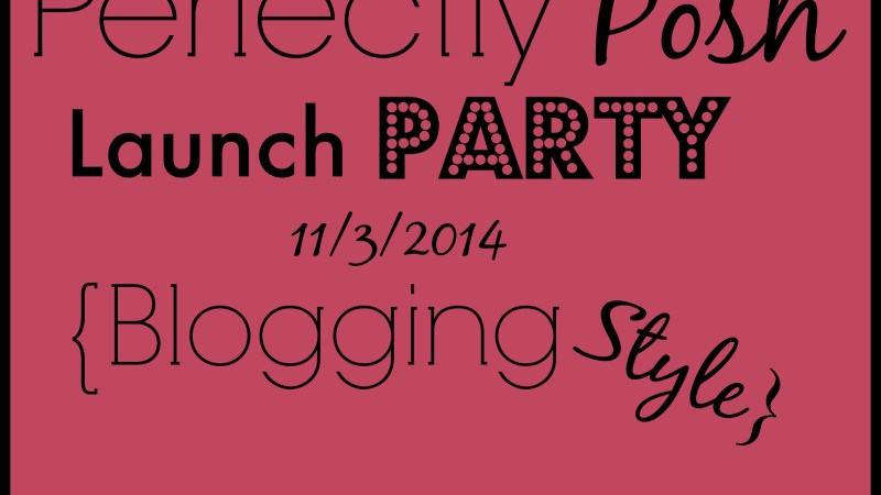 {Perfectly Posh} You're Invited to be Pampered 11/3/2014-11/7/2014