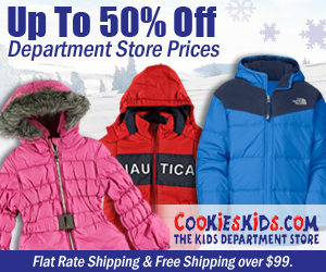 Save Up to 75% on Clearance + An Extra 10% off Sitewide at CookiesKid​s.com