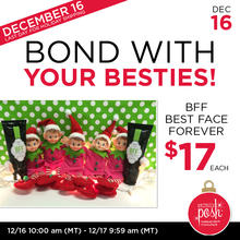December 16th #Poshmas: BFF Best Face Forever $17 Each {Final Day}