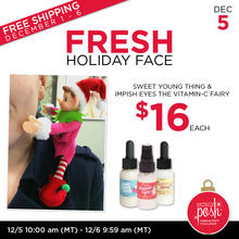 December 5th #Poshmas: Fresh Holiday Face $16 Each PLUS Free Shipping