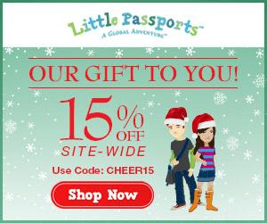 15% Off Little Passports Ends 12/15/2014