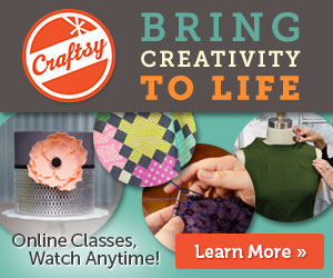 Craftsy's #FLASHSALE: Up to 50% Off 1/16-1/18