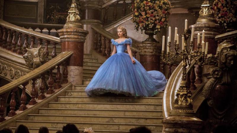 Disney's Cinderella with Frozen Fever Featurette {Movie Review}