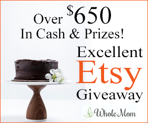 Excellent Etsy Giveaway Over $650 in Cash & Prizes Ends 6/8