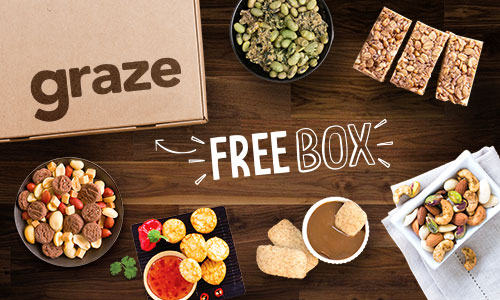 Get a Free Snack Box from Graze.Com Ends 5/9/2016