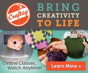 Craftsy Memorial Day Weekend Sale Ends 5/25