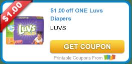 Wednesday's Coupon Savings: Luvs, Brita, and More! 6/17