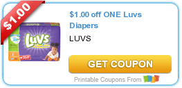 Wednesday's Coupon Savings: Luvs, Brita, and More! 6/17
