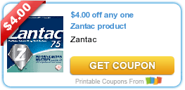 Friday's Coupon Savings: Zantac, Carefree, Danimals, and More! 6/5