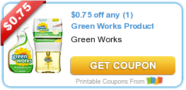 Monday's Coupon Savings: Special K, Green Works, and More 6/15