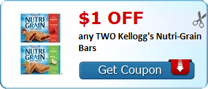 Coupon Savings 7/7: Get $1 Off Two Kellogg's Nutri-Grain Bars, $0.75 Off Hillshire Farms Lunchmeat and More!