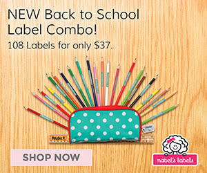 Get $5 Off Mabel's Labels #BackToSchool Combos Ends 7/31