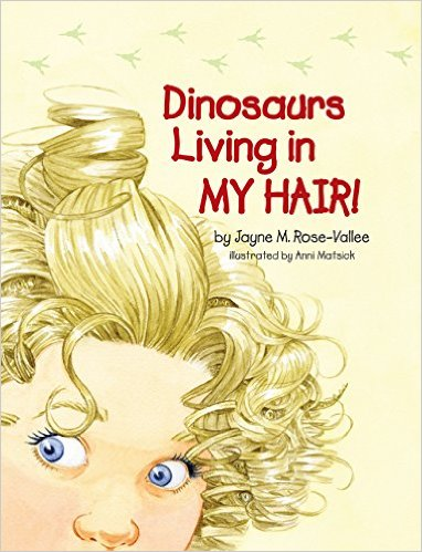 Dinosaurs Living in MY HAIR! {Book Review}