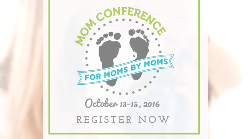 Online Mom Conference for Moms by Moms October 13th, 14th, & 15th {Free Event}