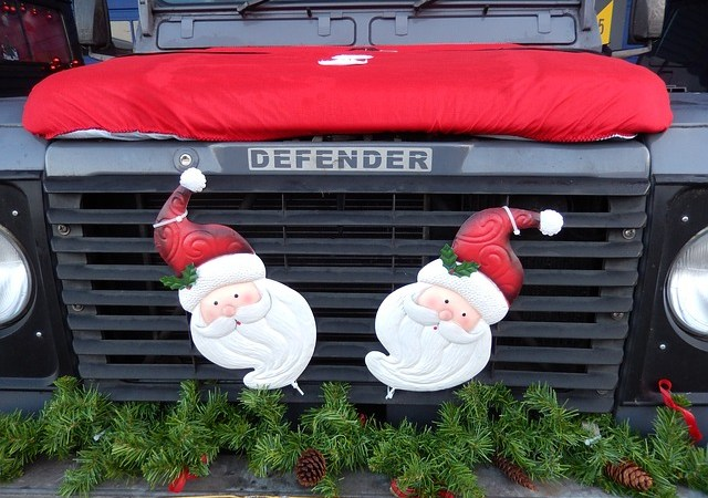 Vehicles for the Holidays and Spreading Good Cheer