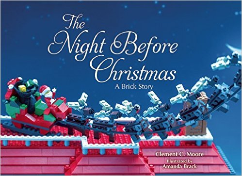 The Night Before Christmas: A Brick Story {Book Review}
