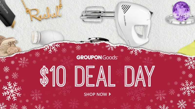 $10 Dollar Deal on Groupon!