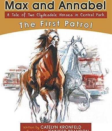 Max and Annabel – A Tale of Two Clydesdale Horses in Central Park {Book Promotion}