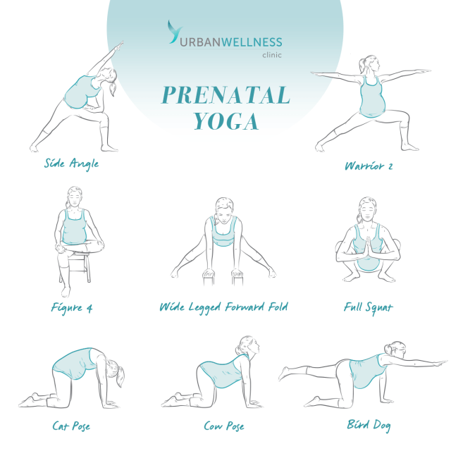 Prenatal Yoga 8 Poses Every Pregnant Women Should Know Michigan Mama News