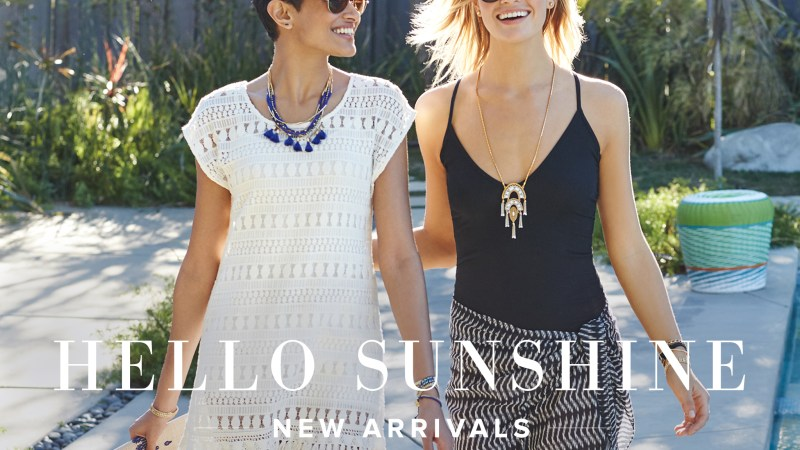Stella & Dot's Lariat Love Necklace #HotTrendingItem
