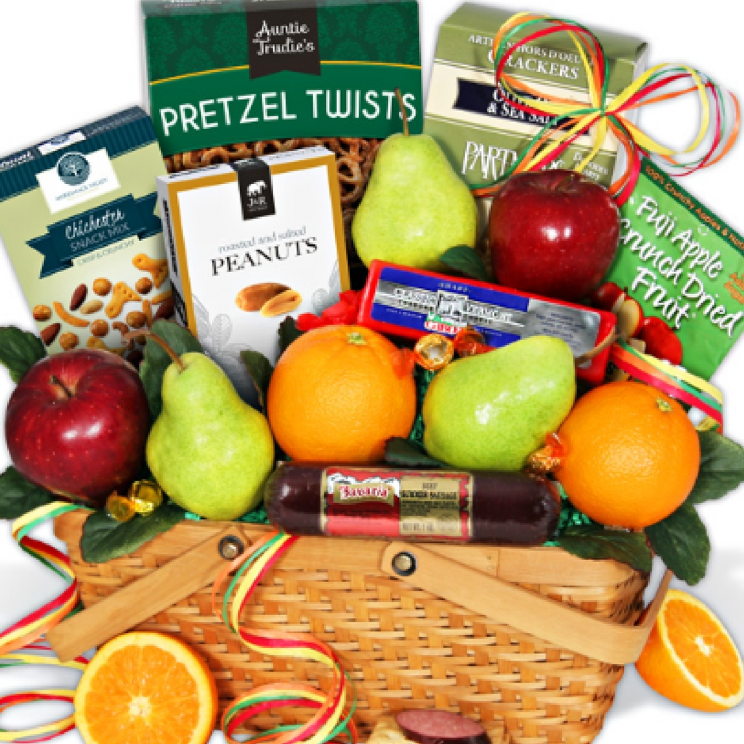 Honor the Grandparents with a Gift from #GourmetGiftBaskets.com