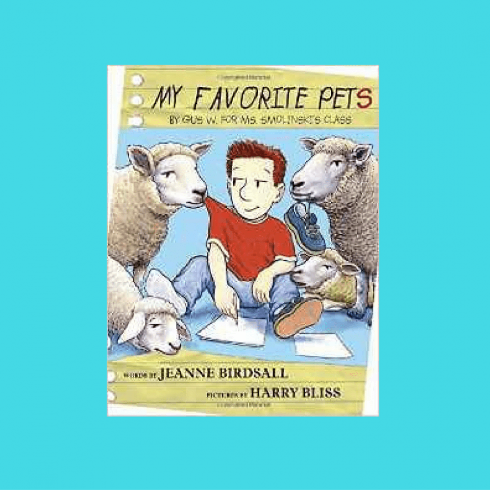 My Favorite Pets {Book Review}
