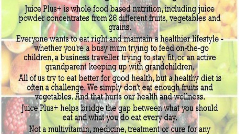 Get a Balanced Diet with Juice Plus+!: Review