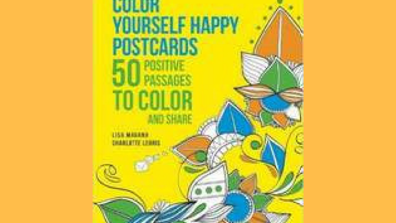 Color Yourself Happy Postcards – Product Promotion