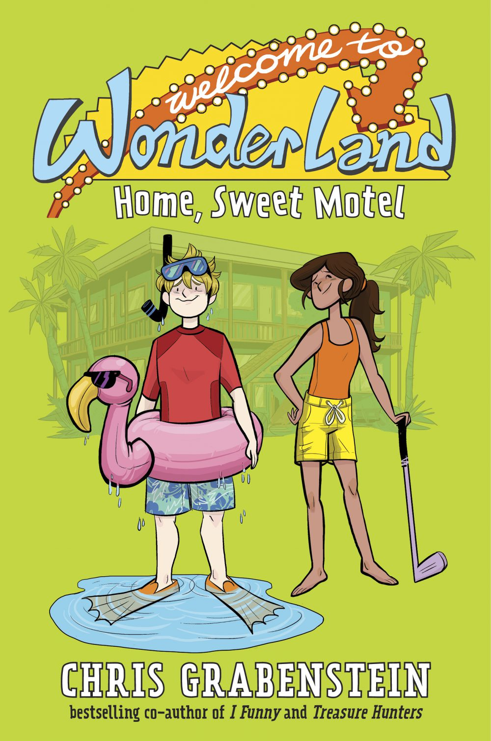 Welcome to WonderLand – Home Sweet Motel – Book Review