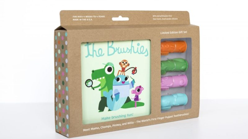 """The Brushies"" – The World's First Finger Puppet #ChildrensToothbrush"