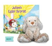 Tired of Jelly Beans & Chocolate Eggs? Give a Personalized Book from the #EasterBunny Himself!
