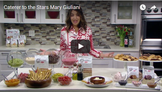 "Caterer to the Stars Mary Giuliani – Partner with Mario Batali on ""Mario by Mary"" in Recent #Interview"