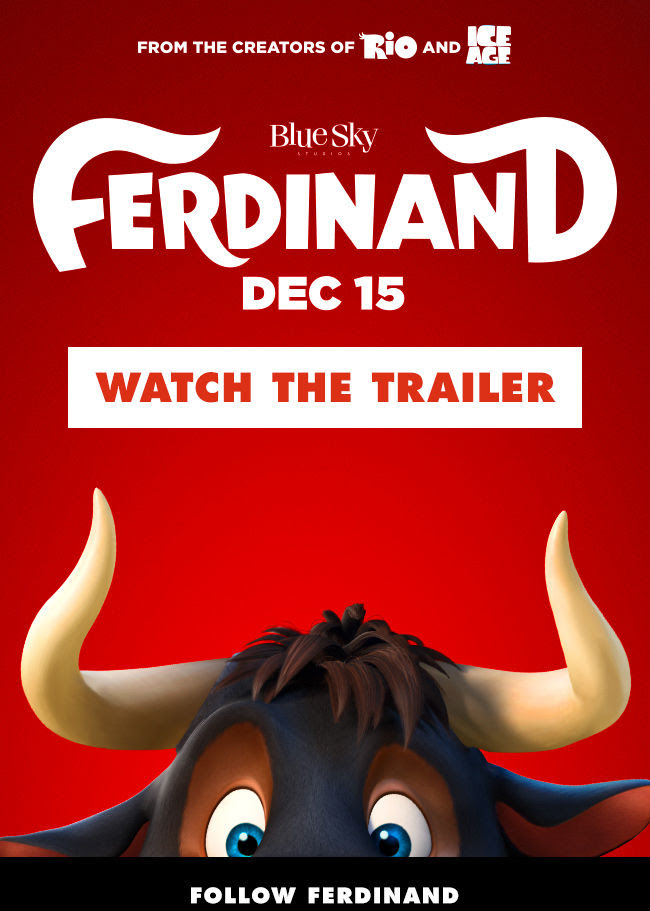 He Inspired the World by Being Himself. Watch the New Trailer for #Ferdinand Now!