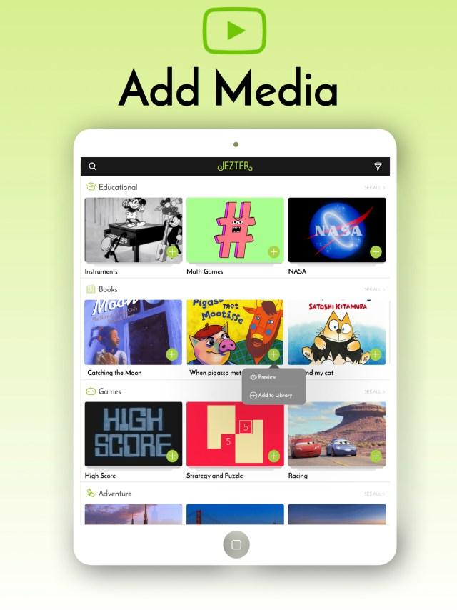 Screenshot Ipad- media
