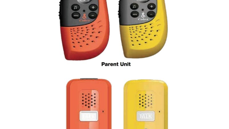 Cobra Safety Walkie Talkies {Product Review}