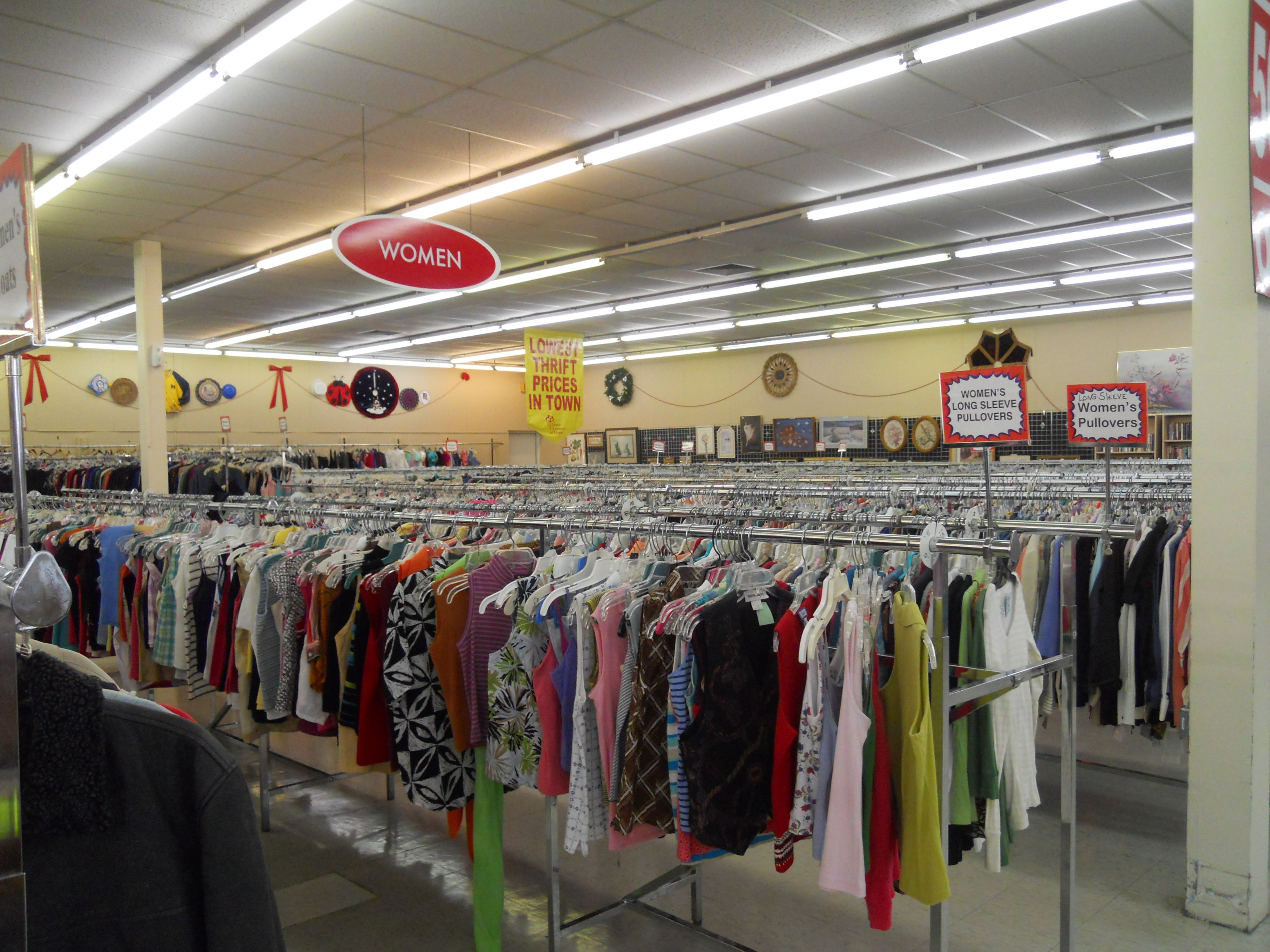 Grace Centers of Hope Thrift Stores Experiencing Low Inventory and WELCOMES Spring Cleaning Donations