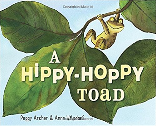 A Hippy-Hoppy Toad {Book Promotion}