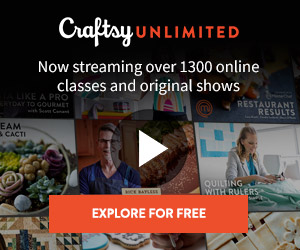 FREE 7 Day Craftsy Unlimited Trial #Ad #AffiliateLink