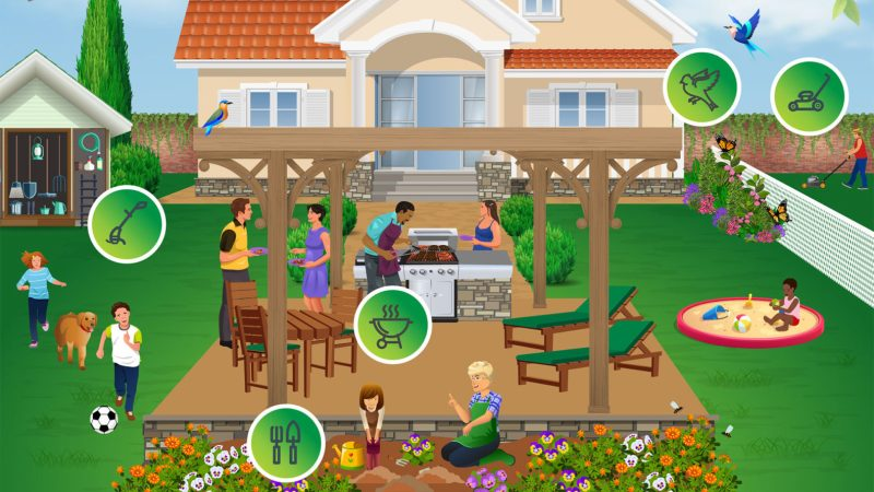 Are You Backyard-Ready for Spring/Summer? – {Infographic}