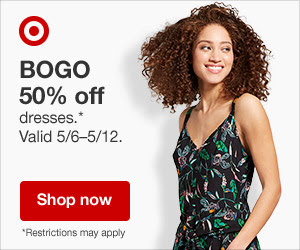BOGO 50% Off Dresses at Target Ends 5/12/18 #Ad #AffiliateLink