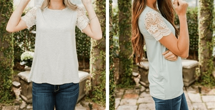 Summer Lace Tunic – Was $46.00 – Ships for $23.98! Ends 6/17