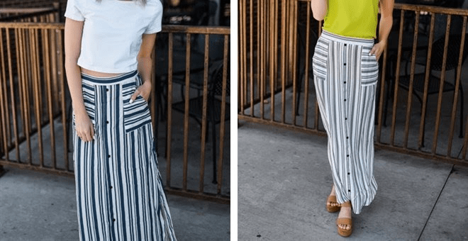 Striped Summer Maxi Skirt – Was $59.99 – Ships for $24.98! Ends 6/18!