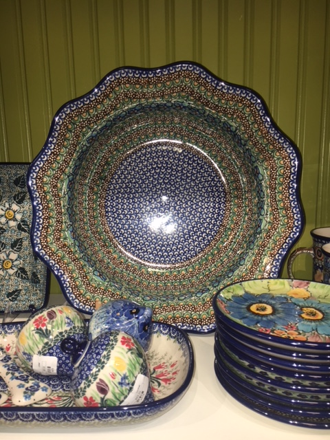 Acorn Farm in Downtown Milford Annual Polish Pottery Party and Sale Aug. 9, 2018