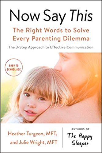 Now Say This – The Right Words to Solve Every Parenting Dilemma – Book Promotion