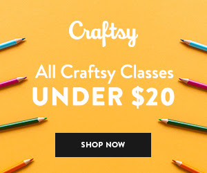All Craftsy Classes Under $20-Ends 8/19