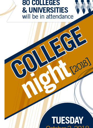 College Night at Schoolcraft College October 2, 2018-Livonia