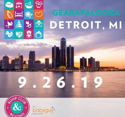 Gearapalooza Detroit: The Ultimate Baby Gear & Registry Event 9/26/19
